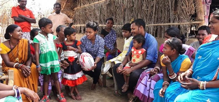 In India il rugby aiuta le donne a trovare una condizione di parità