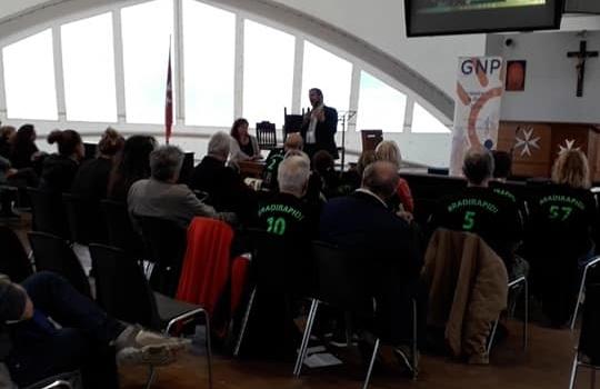 Giornata Nazionale Parkinson 2018: i Bradirapidi portano il Parky Touch Rugby ai Cavalieri di Malta