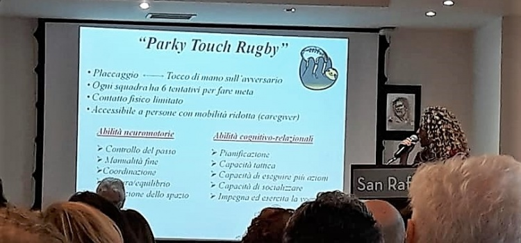 "Il primo studio scientifico sul Parky Touch Rugby all'Università ""San Raffaele"""